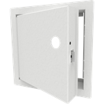 Uninsulated Fire-Rated Access Door, Mortise Lock Prep