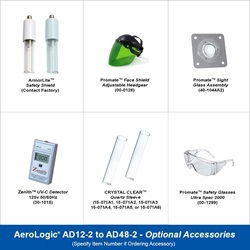 AeroLogic® UV Air Duct Residential and Commercial Disinfection Models - Two Lamp Standard