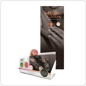 Voesh NY Retail Display Kit (Collagen & Mani-In-A-Box)
