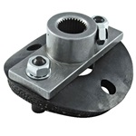 1/2 Rag Joint Steering Box Side, 11/16""