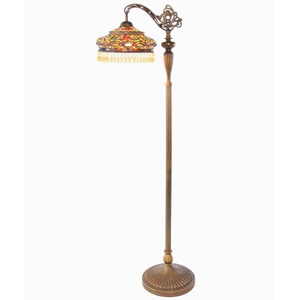 "60""H Tiffany Style Parisian Floor Lamp"