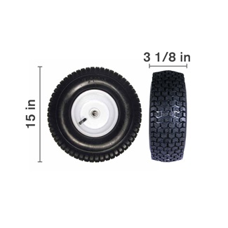 "15"" Tire & Wheel Assembly"