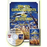 Thy Word - 10 Commandments/Beatitudes - KJV - 1 Book w/CD
