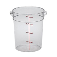 Cambro Poly 4 qt. Round Food Storage Containers