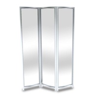 Tri-Shield 6001-00100 Barrier with Brushed Stainless Frame