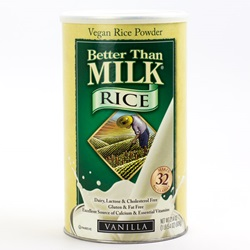 Better Than Milk Rice, Vanilla (Powder) - 21.4oz