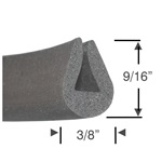 Sponge Rubber Edge Trim