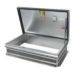 "30"" x 54"" Personnel II Roof Hatch, Ladder Access, Aluminum"