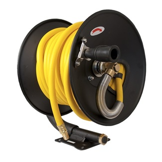 Hand Crank Air Hose Reel