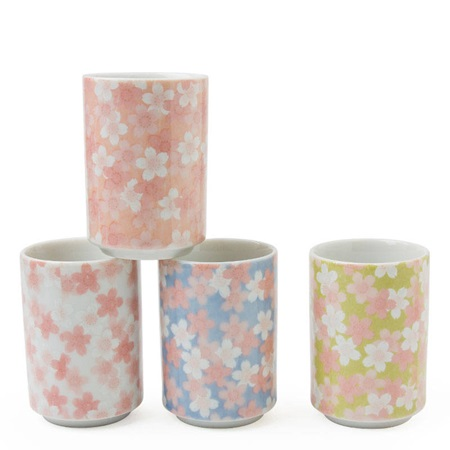 Mankai Sakura 5 Oz. Teacup Set