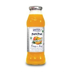 Orange Mango Juice, Organic (Lakewood) - 12.5oz