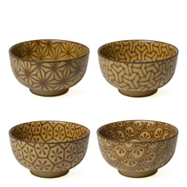 "Sepia 5"" Mosaic Bowl Set"