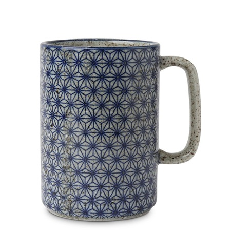 Mug Blue Asanoha 16 oz.
