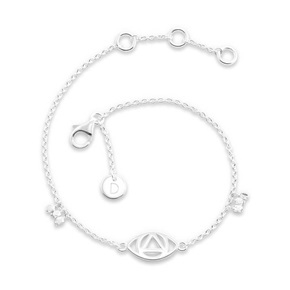 Daisy London Good Karma Bracelet, Evil Eye