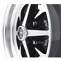 "15 x 6 Magnum 400, 4 on 4.5 BP, 3.75"" BS, Gloss Black / Machined"