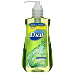 7.5 oz. Antibacterial Aloe Dial Soap - Liquid Pump Bottle