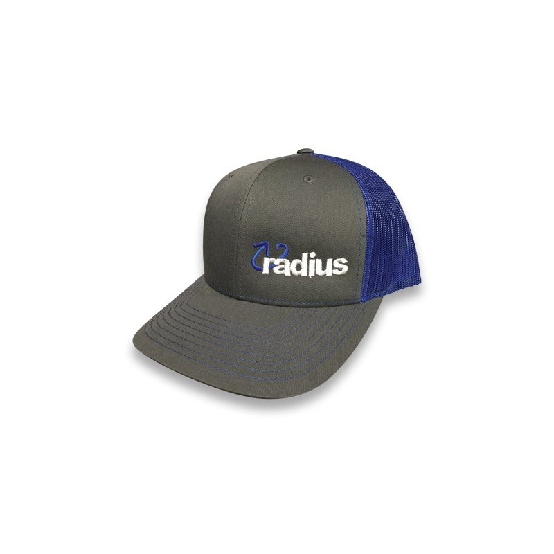 Radius Hat Royal/Charcoal