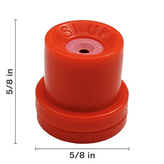 Orange Hollow Cone Ceramic Nozzle