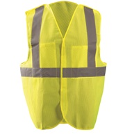 High Visibility Classic Mesh 5-pt. Break-away Safety Vest