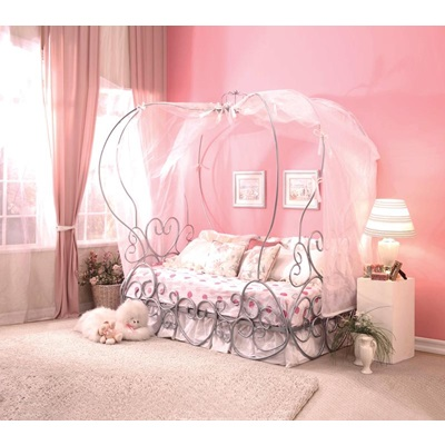 37190T_KIT PRIYA PUMPKIN TWIN CANOPY BED