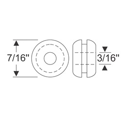 "Multi-Purpose Grommet 7/16"" x 3/32"""