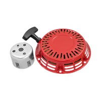 GX Series Red Recoil Starter Assembly with Pawl for GX 120-160-200