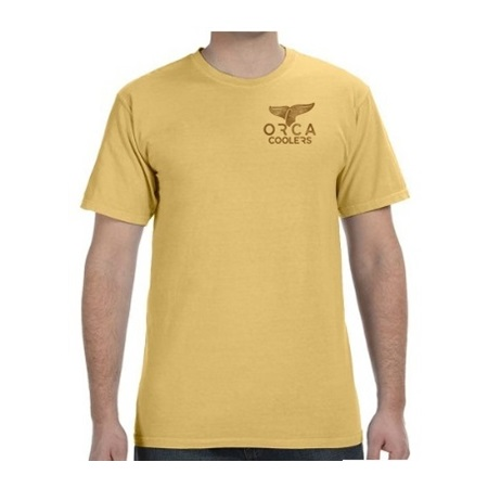 Mustard Short Sleeve Shirt X-Large