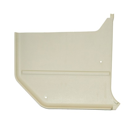 1964-66 Mustang Convertable Kick Panels (White)