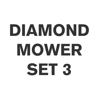 Diamond Mower Flail Set 3