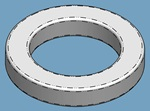 "1/4"" ID SHAFT SPACER"