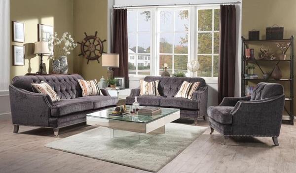 Acme Furniture 50215 Sofa W 2 Pillows