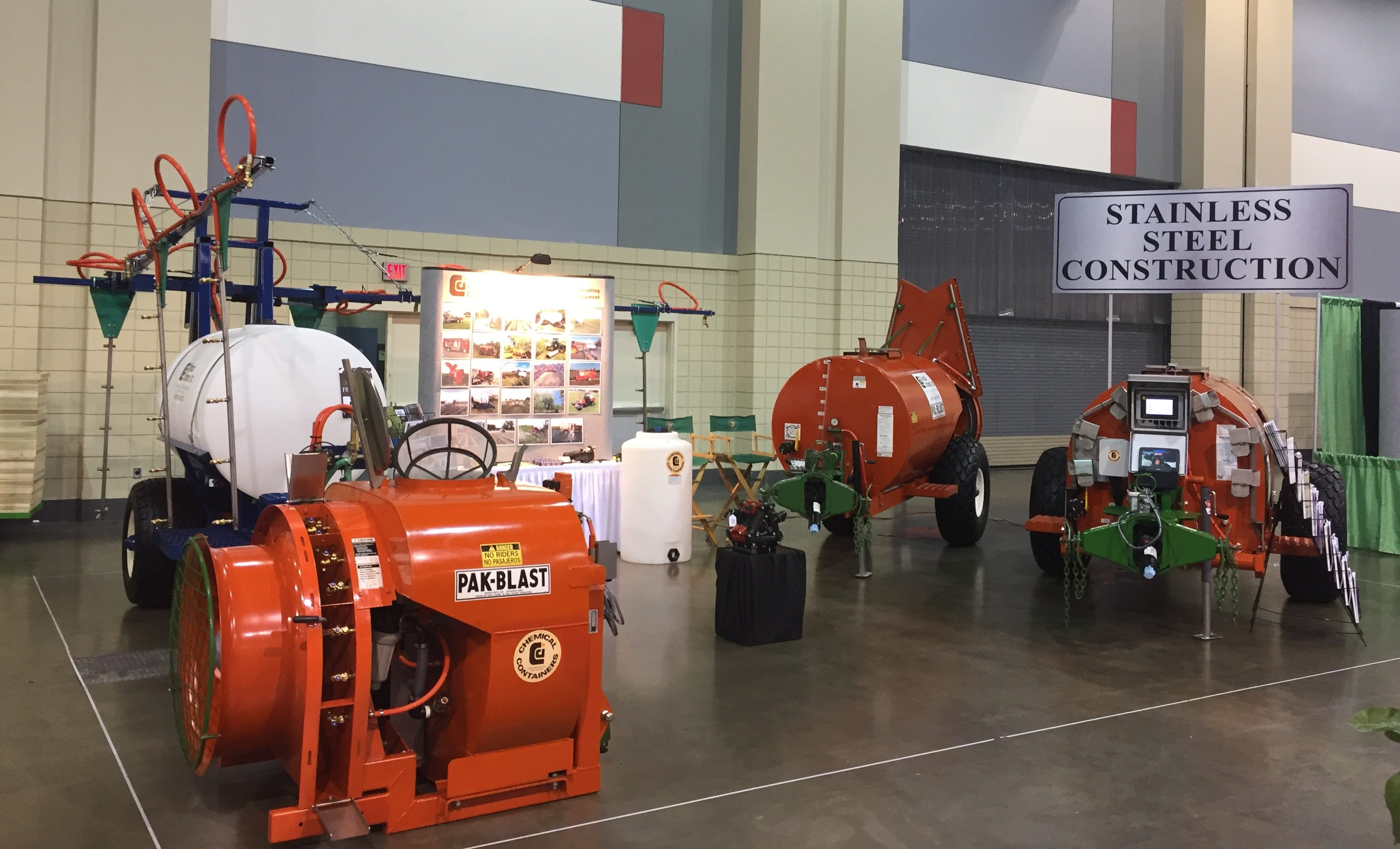 CCI booth at the SE Regional Fruit & Vegetable Trade Show