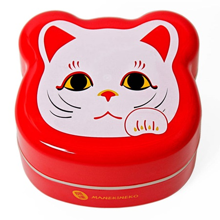 Fortune Cat Bento Box