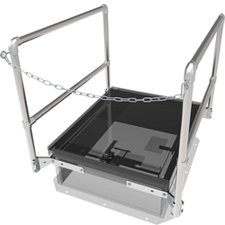"36"" x 30"" Front Chain Safety Railing"
