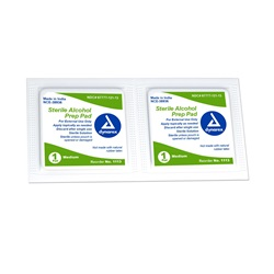 Dynarex Medium Prep Pads