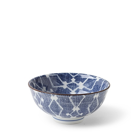 "Aizome Hishi 4.5"" Rice Bowl"