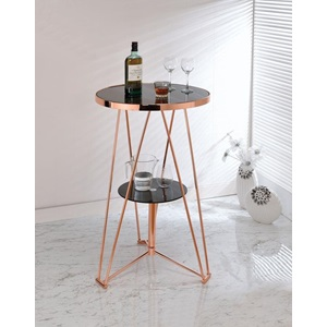 72579 ROSE GOLD BAR TABLE
