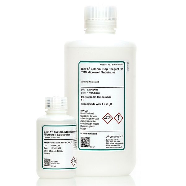 STPR - 450 nm Stop Reagent for TMB Microwell Substrates