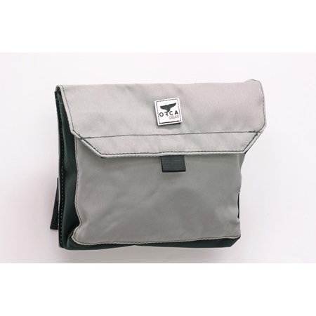 Medium Pouch Grey/Black