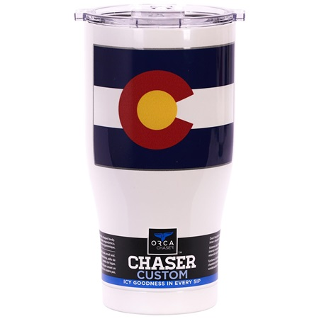 Colorado State Flag Chaser 27oz