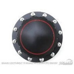 Billet Fuel Cap (Black, Plain Face)