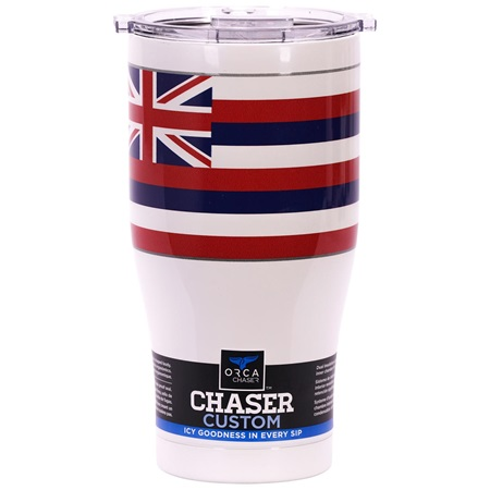 Hawaii State Flag Chaser 27oz