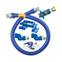 Dormont Manufacturing 16100KITCF2S60PS Dormont Blue Hose� Moveable Gas Connector Kit