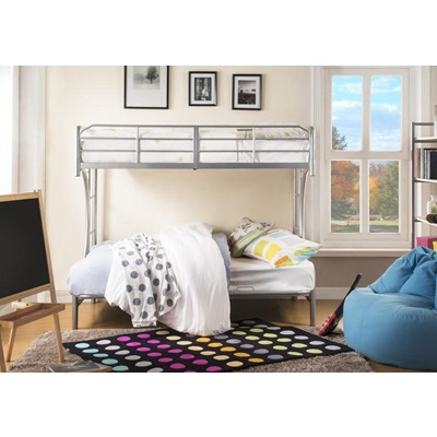 02081SI SILVER T/F BUNKBED