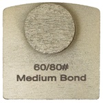 Single Dot Medium Bond 60/80 Grinder Tooling for Husqvarna® Redi Lock®