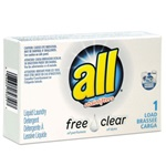 All Free Clear 2 Oz Liquid Laundry Detergent