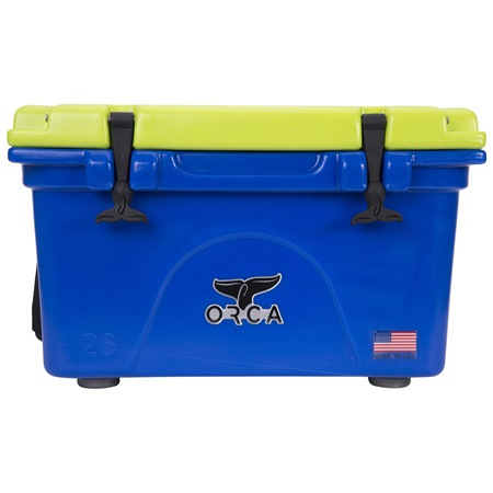 Blue/Chartreuse 26 Quart