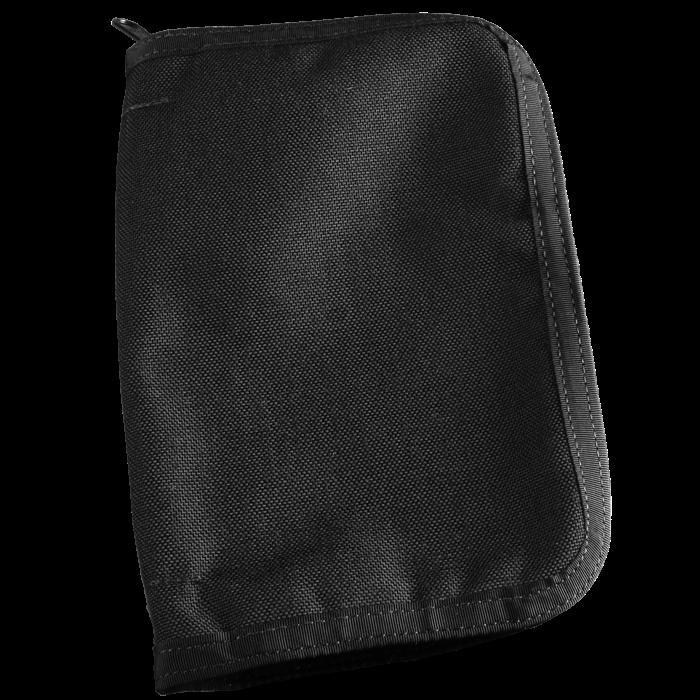 rite in the rain bound book cover black cordura fabric 5 3 4 x 8