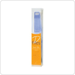 Flowery® Foot Files, D-Files