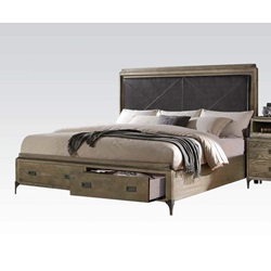 23917EK ATHOUMAN E.KING BED W/STORAGE